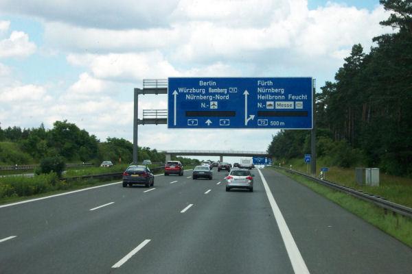 Autobahnsperrung München